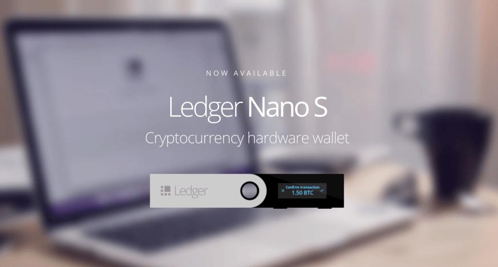 Leder Nano S - Hardware-Wallet