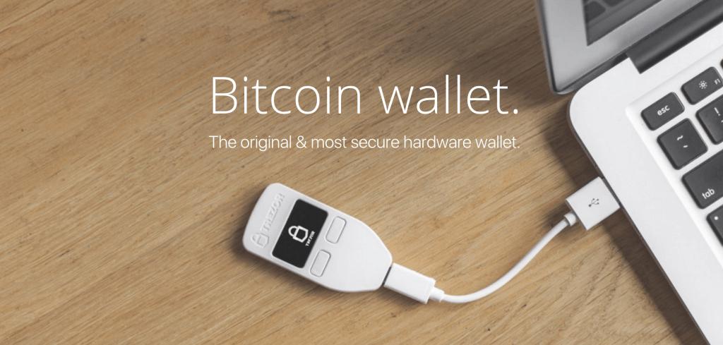 TREZOR Bitcoin & Altcoin Hardware-Wallet