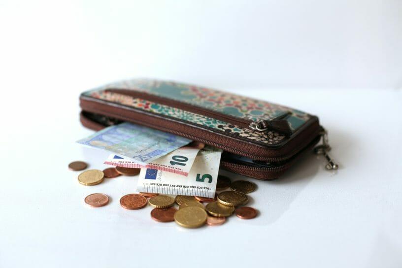Ein physisches Wallet