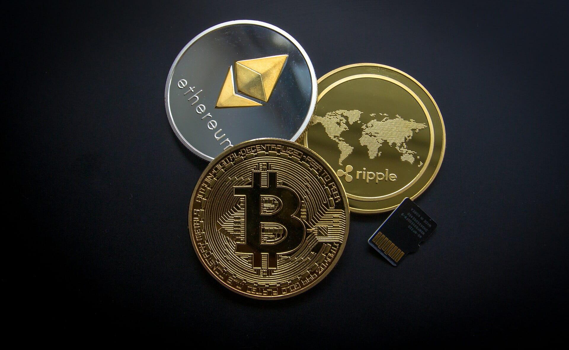 Cryptocurrency: Ethereum, Ripple und Bitcoin